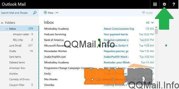 How to set up mail forwarding in QQ Mail