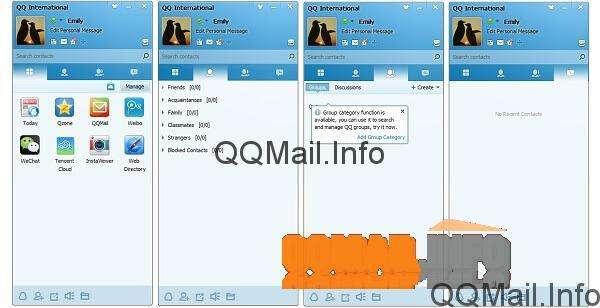 Using QQ International Chat with QQ Mail How to sign out of QQ International chat and close the program