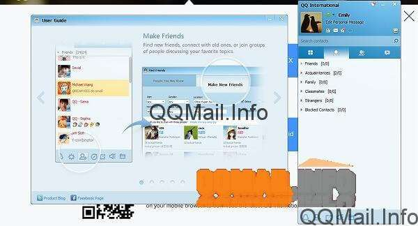 Using QQ International Chat with QQ Mail Now, here is a quick guide to the main tabs in your new QQ International  chat program. The first tab with the tiles icon is all of the QQ/Tencent  apps you ...