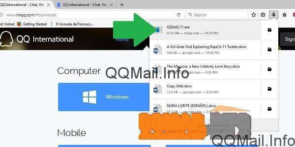 Using QQ International Chat with QQ Mail How to install QQ International chat